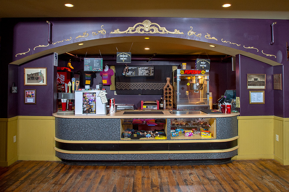 front lobby concession counter