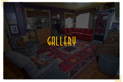 lobby lounge as background to gallery image button