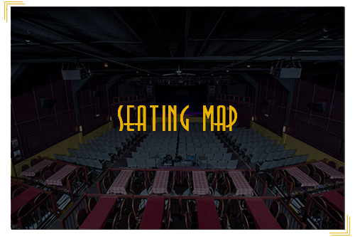 view of theater seats as background with overlay and seating map written as text overlay